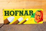 Hofnar Cigars Pictorial Enamel Sign