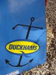 LARGE DUCKHAMS OILS STRIP ENAMEL SIGN   SA152