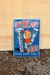Eveready Pictorial Enamel Sign. #