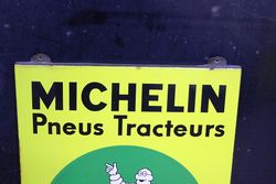Michelin Tractor Shield Enamel Sign