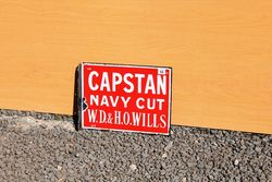Capstan/Westward Ho Post Mount Enamel Sign.#