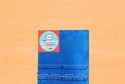 Esso Tin Map Holder Rack