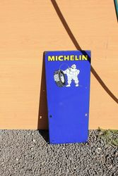 Michelin Enamel Tyre Chart Sign.#