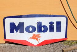 Mobil Flying Pegasus Double Sided Enamel Sign