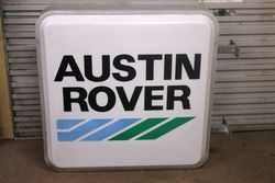 Austin Rover Advertising Light Box.#