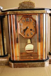 ARRIVING DEC Various Art Deco Marble Clocks