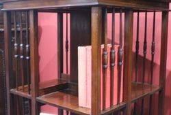 Quality Mahogany Revolving Bookcase