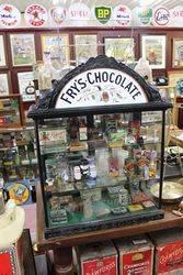 Antique Fry+96s Shop Display Cabinet