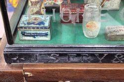 Antique Fryand96s Shop Display Cabinet