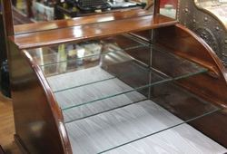 Glass Shelved Display Box