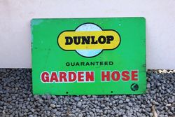 Dunlop Hose Double sided Tin Advertising Sign.#