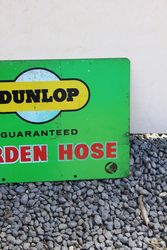 Dunlop Hose Double sided Tin Advertising Sign