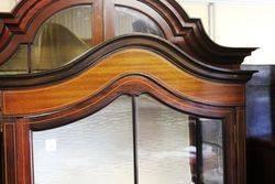Edwardian Single Door Display Cabinet..#
