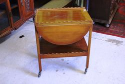 Early C20th Drop Side Tea Trolley#