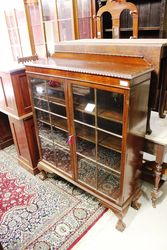 Early 20th Century Mahogany Bookcase - Cabinet C1925.#