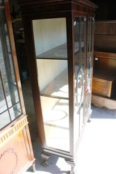 Edwardian Mahogany 2 Door Display Cabinet