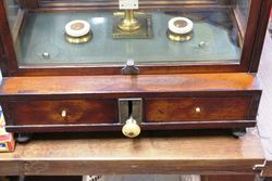 Cased Set Of Scientific Scales With Weights