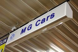 Genuine MG Car Care Lightbox.#