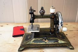 ARRIVING NOV Antique Cast Iron Sewing Machine