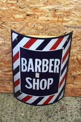A Genuine Barbers Enamel Sign.#