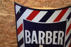 ARRIVING NOV A Genuine Barbers Enamel Sign