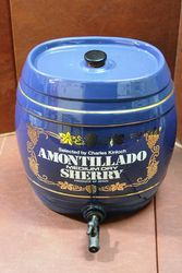 Amontillado Sherry Porcelain Dispenser.#