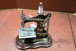Early 1900and39s Muller Toy Sewing Machine