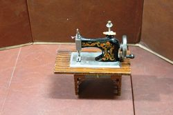 Tin Plate Casige 2042 Table Top Toy Sewing Machine C1952