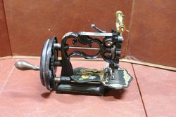 Antique New England Short Version Sewing Machine C1865.#