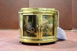 Early 20th Century Dual Carriage ClockBarometer