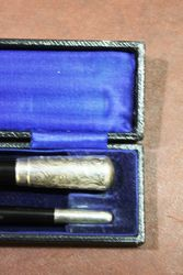 Early Conductors Silver Mounted Baton London 1924