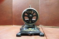 Wonderful Quality Late 19th Century Cast Sewing Machine