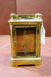 Large Early 20th Century Brass Carriage Clock