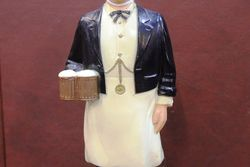 A Wonderful Schmidts Alloy Beer Advertising Figure