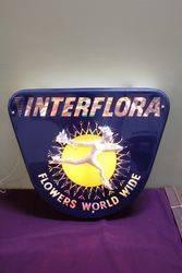 Classic Interflora Flowers Light Box