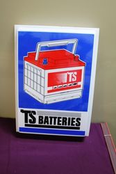 Classic TS Batteries Plastic Light Box Lens.#