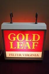 Wills Gold Leaf Filter Virginia Light Box. #