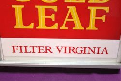 Wills Gold Leaf Filter Virginia Light Box