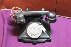1930s Bakelite Pyramid Telephone #