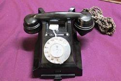 Early Bakelite Telephone.#