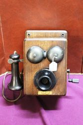 Early General Electric Coventry Wall Phone #