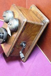 Early General Electric Coventry Wall Phone