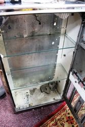 Cigarette Vending Machine That Has Been Converted Into A Display Cabinet