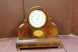 Edwardian 30 Hour Time Only Mantle Clock.#
