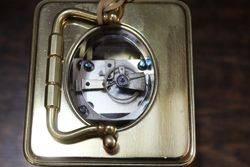 Early 20th Century Brass Carrige Clock