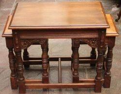 Set of 3 Oak Tables