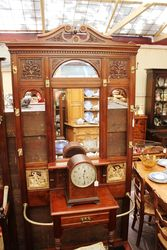 A Quality Late Victorian Walnut Hall Stand C1895.#