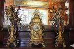 Antique 3 Piece Clock Set