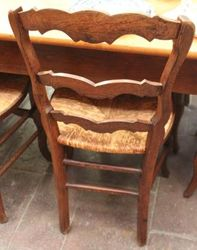 Set of 12 Early Twentieth Century French Chairs