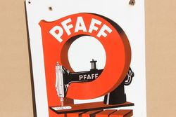 Pfaff Sewing Machine Pictorial Advertising Sign